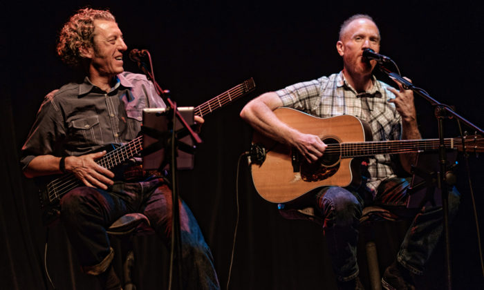 Mike Massé and Jeff Hall, photo by Keith Reynolds