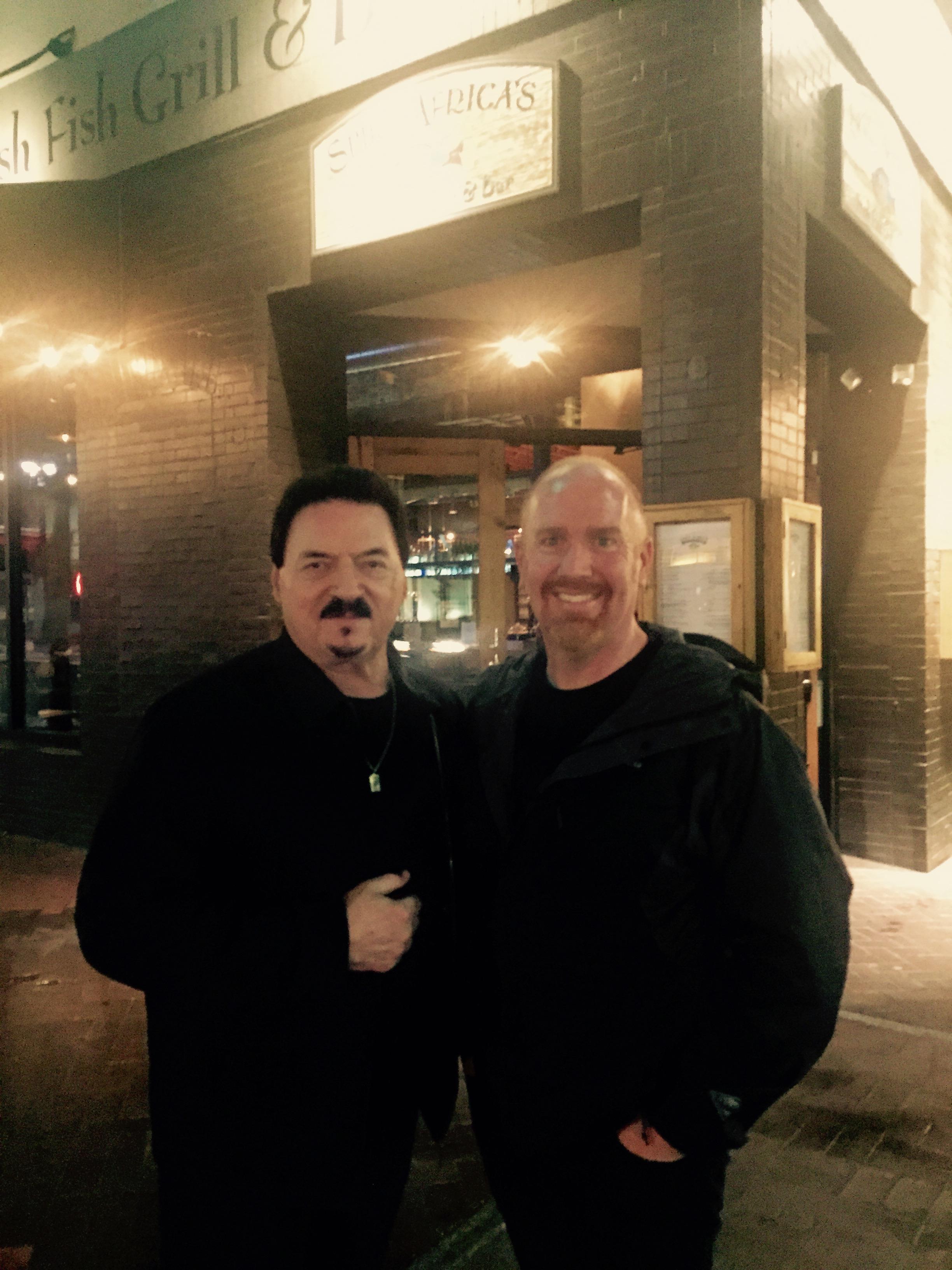 Mike Massé with Bobby Kimball