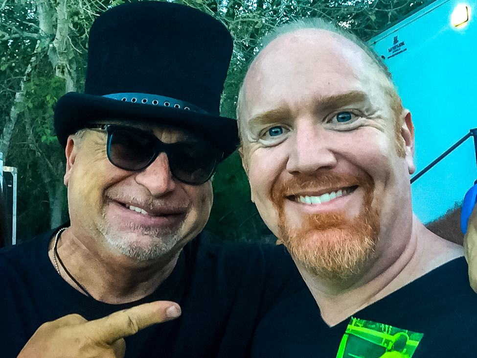 Toto's David Paich with Mike Massé