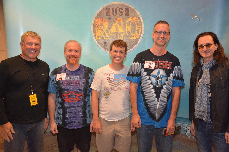 Mike Massé meets Rush