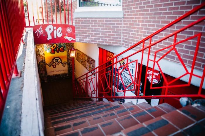The Pie entrance